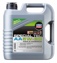 Моторное масло Liqui Moly Special Tec AA 5W-20 (4 л.) 7621