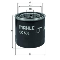 Фильтр масляный Mahle-Knecht OC500