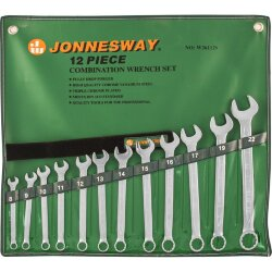 Набор ключей Jonnesway 8-22 мм., 12 предметов 47355 W26112S