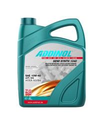 Моторное масло Addinol Semi Synth 1040 10W-40 (4 л.) 4014766249968