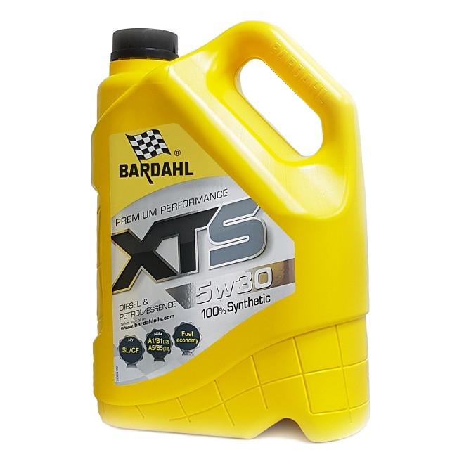 Моторное масло Bardahl XTS 5W-30 (5 л.) 36543