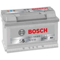 Аккумулятор Bosch S5 74Ah 750A 278x175x175 о.п. (-+)
