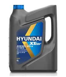 Моторное масло Hyundai (Kia) Xteer Diesel Ultra C3 5W-30 (6 л.) 1061224