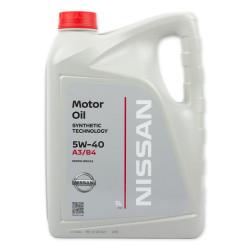 Моторное масло Nissan 5W-40 (5 л.) KE900-90042