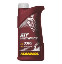 Трансмиссионное масло Mannol ATF Multivehicle (1 л.) 1937