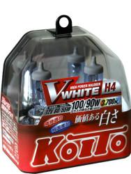 Автолампа Koito Whitebeam H4 3700K P0746W