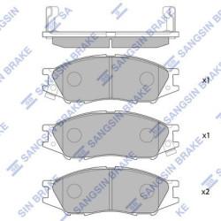 Тормозные колодки Hi-Q SP1156