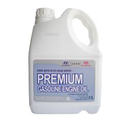 Моторное масло Hyundai (Kia) Premium Gasoline 5W-20 (3 л.) 05100-00321