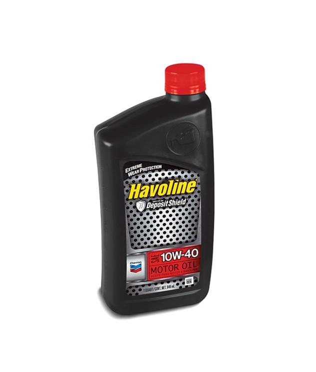 Моторное масло Chevron Havoline Motor Oil 10W-40 (1 л.) 076568796310