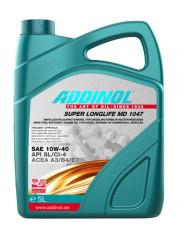 Моторное масло Addinol Super Longlife MD 1047 10W-40 (5 л.) 4014766241443