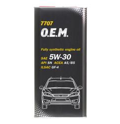 Моторное масло Mannol 7707 O.E.M. 5W-30 (5 л.) 4042
