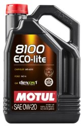 Моторное масло Motul 8100 Eco-Lite 0W-20 (5 л.) 108536