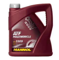 Трансмиссионное масло Mannol ATF Multivehicle (4 л.) 1939