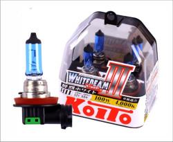 Автолампа Koito Whitebeam H11 4000K P0750W