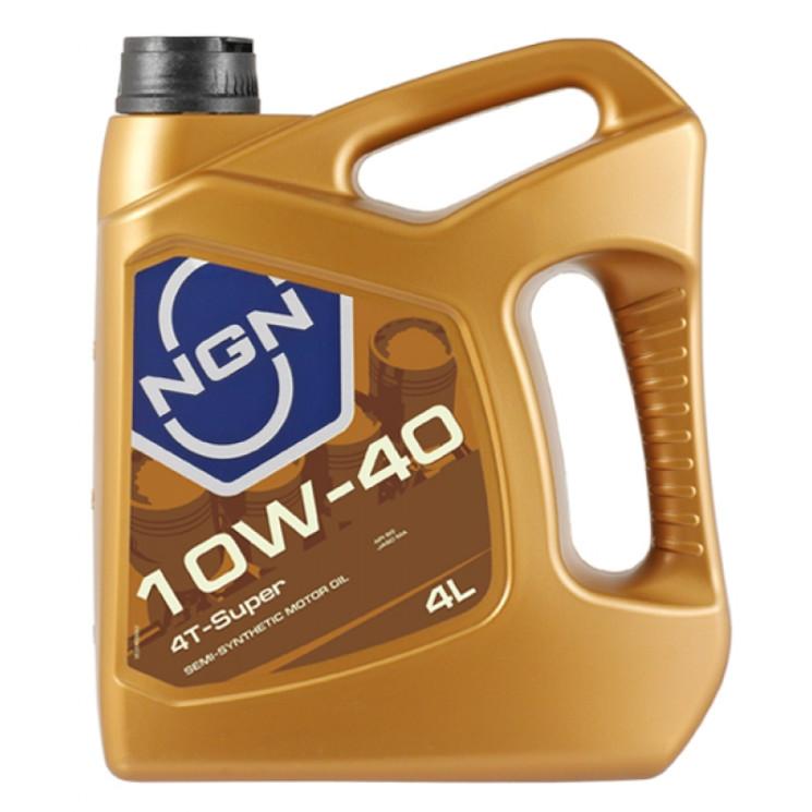 Масло четырехтактное NGN 4T-Super 10W-40 (4 л.) V172085329