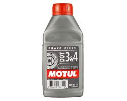 Тормозная жидкость Motul Brake Fluid DOT 3-4 (0,5 л.) 102718