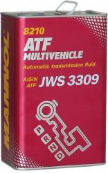 Трансмиссионное масло Mannol ATF Multivehicle (4 л.) 3046