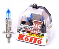 Автолампа Koito Whitebeam H1 4200K P0751W