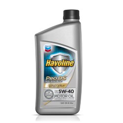 Моторное масло Chevron Havoline Motor Oil Pro DS 5W-40 (1 л.) 076568732411