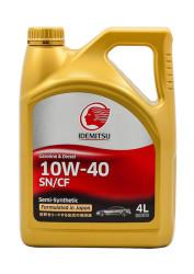 Моторное масло Idemitsu 10W-40 SN/CF (4 л.) 30015045-746