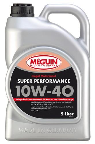 Моторное масло Meguin Megol Motorenoel Super Performance 10W-40 (5 л.) 4365