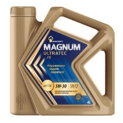 Моторное масло Rosneft Magnum Ultratec FE 5W-30 (4 л.) 40816342