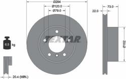 Тормозной диск Textar 92238403