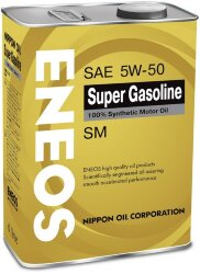 Моторное масло Eneos Gasoline Super SM 5W-50 (4 л.) Oil4074