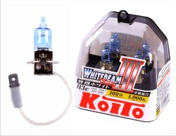 Автолампа Koito Whitebeam H3 4000K P0752W