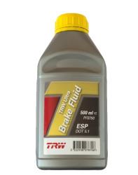 Тормозная жидкость TRW DOT 5.1 ESP (0,5 л.) PFB750