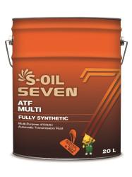 Трансмиссионное масло S-oil SEVEN ATF Multi (20 л.) E107986