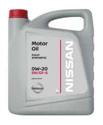 Моторное масло Nissan 0W-20 (5 л.) KE900-90143R