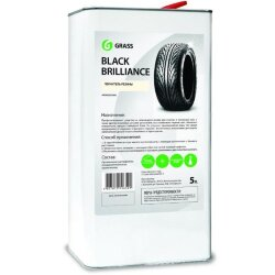 Grass Black Brilliance Полироль для шин (5 л.) 125101