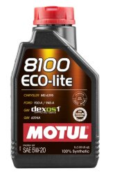 Моторное масло Motul 8100 Eco-lite 5W-20 (1 л.) 109102