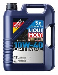 Моторное масло Liqui Moly Optimal 10W-40 (5 л.) 2287