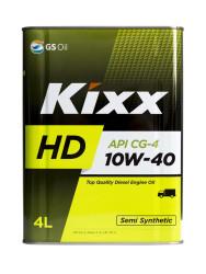 Моторное масло Kixx HD 10W-40 CG-4 (4 л.) L525544TE1