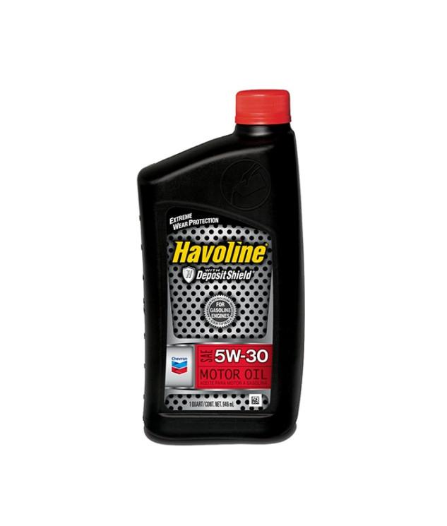 Моторное масло Chevron Havoline Motor Oil 5W-30 (1 л.) 076568796297