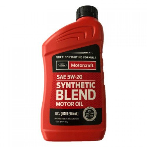 Моторное масло Ford Motorcraft 5W-20 Synthetic Blend (1 л.) XO-5W20-Q1SP