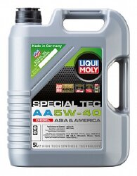 Моторное масло Liqui Moly Special Tec AA Diesel 5W-40 (5 л.) 21332