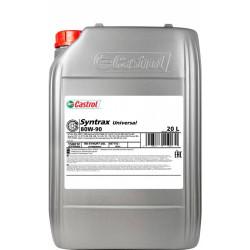 Трансмиссионное масло Castrol Syntrax Universal 80W-90 (20 л.) 15548D