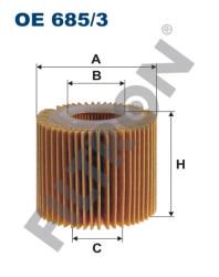 Фильтр масляный Filtron OE6853