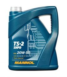 Моторное масло Mannol TS-2 SHPD 20W-50 (5 л.) 1242