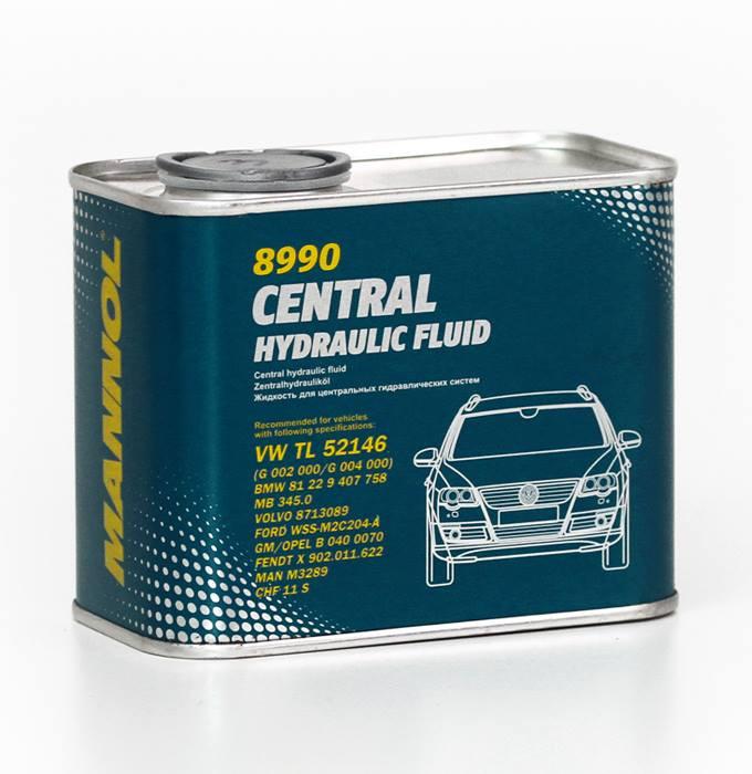 Гидравлическая жидкость Mannol 8990 CHF (0,5 л.) 2478