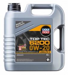 Моторное масло Liqui Moly Top Tec 6200 0W-20 (4 л.) 20788
