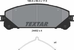 Тормозные колодки Textar 2445201