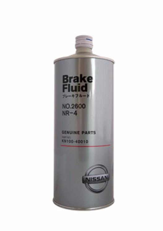 Тормозная жидкость Nissan Brake Fluid 2600 DOT 4 (1 л.) KN100-40010