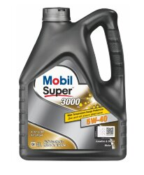 Моторное масло Mobil Super 3000 X1 5W-40 (4 л.) 152566