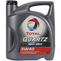 Моторное масло Total Quartz Ineo MC3 5W-40 (5 л.) 213103