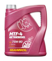 Трансмиссионное масло Mannol MTF-4 Getriebeoel 75W-80 (4 л.) 81044