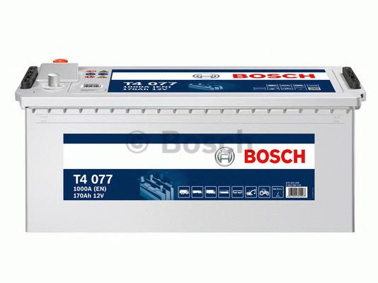 Аккумулятор Bosch T4 12V 170Ah 1000A 513x223x223 о.п. (-+) 0092T40770